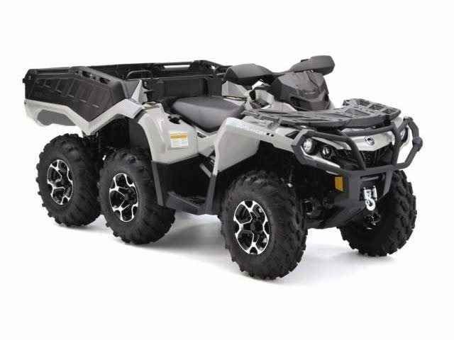 New 2015 Can-Am Outlander 6x6 XT 650 ATVs For Sale in Oklahoma. 2015 Can-Am Outlander 6x6 XT 650, Length 122.8 in. (312 cm) Height 49.5 in. (126 cm) Width 48.8 in. (124 cm) Weight 1,135 lbs. (515 kg) Ground Clearance 11 in. (27.9 cm) Wheelbase 82 in. (208.1 cm) Seat Height 34.5 in. (87.7 cm)
