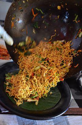 Mie Goreng Bali - Balinese vegetable noodles - nom Living in Sin: Sate Bali Cooking Class, Seminyak, Bali