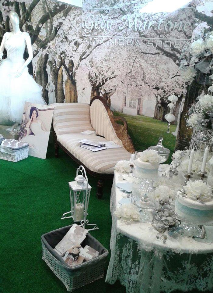 Semplice e accogliente giardino #stand www.mtlook.it