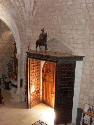 Interior de la iglesia de San Martín de Torresandino
