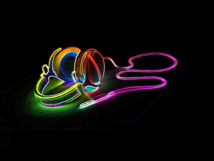 Neon Music Notes Wallpaper: Synapserpg: Dubstep Wallpaper