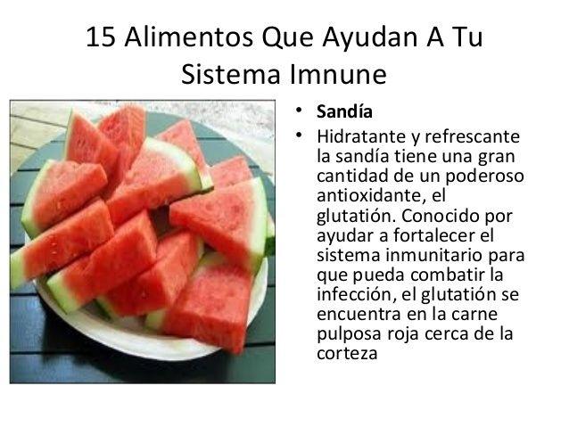 15 Alimentos Que Ayudan A Tu Sistema Inmune