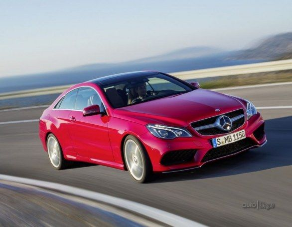 2013 Mercedes E-Class Coupe and Convertible: official photos released