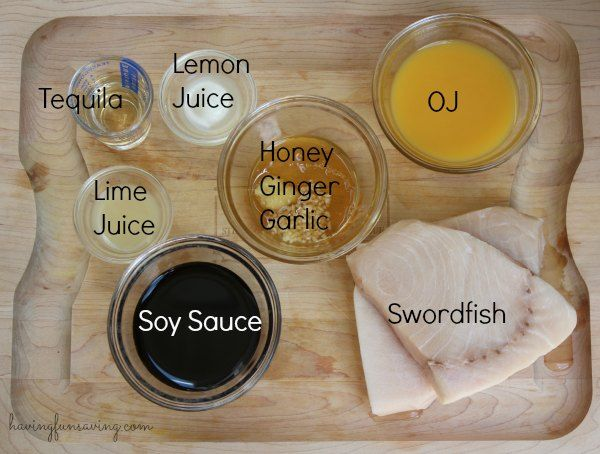 Citrus Marinade Grilled Swordfish Recipe