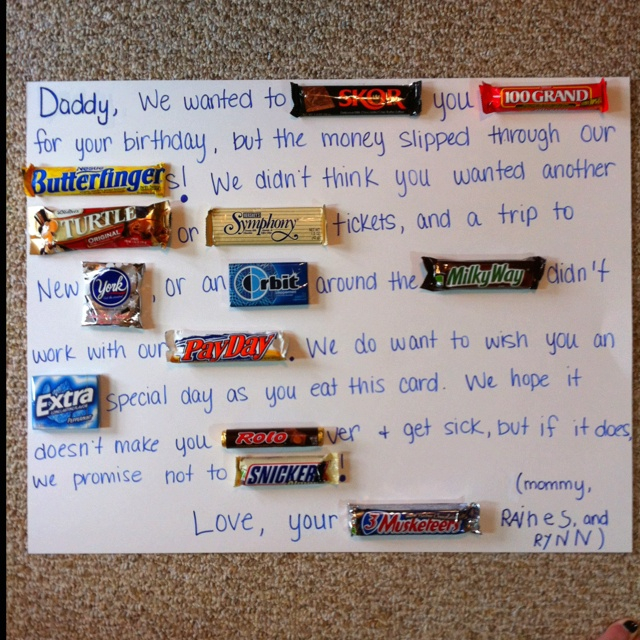 creative father's day gifts diy