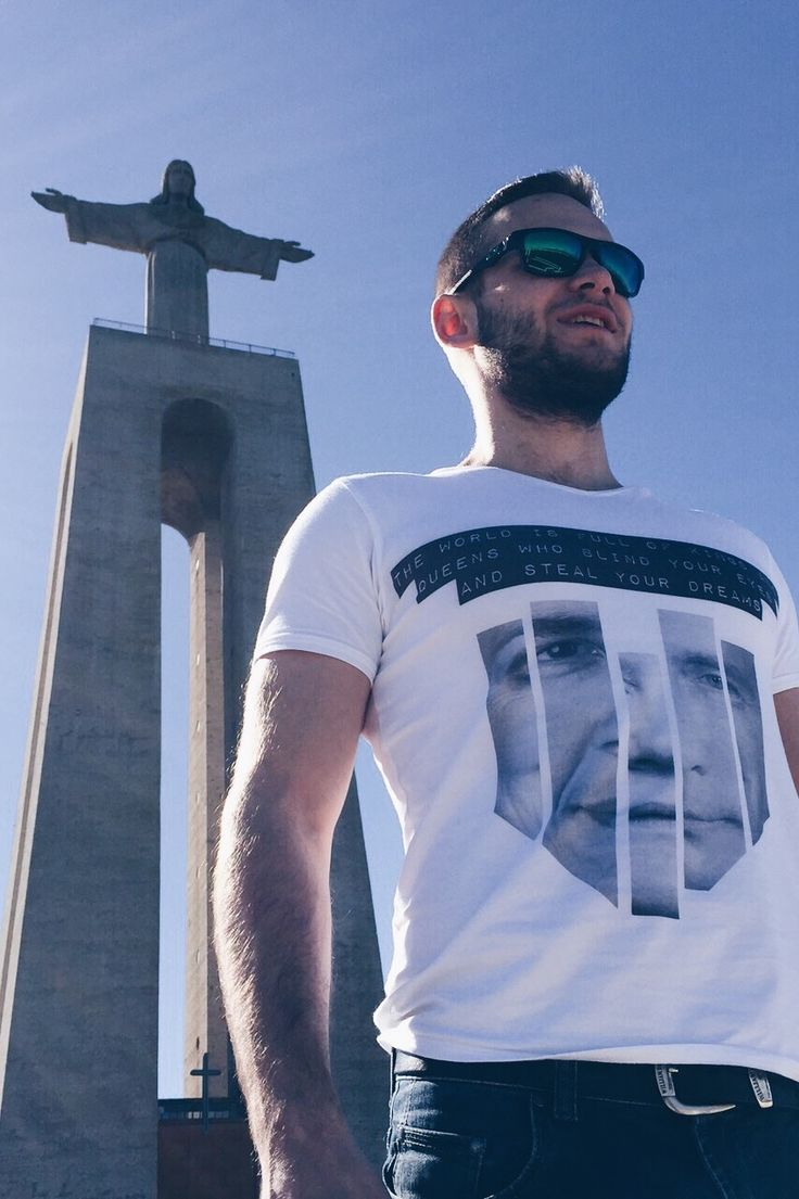 "Portugal is ABIDELESS! Travel the world in ABIDELESS T-Shirt and spread the word. Buy ""PROPAGANDA"" model at www.ABIDELESS.com #IamABIDELESS #fashion #travel #Portugal #style #dope #streetwear #men #cool #handmade"
