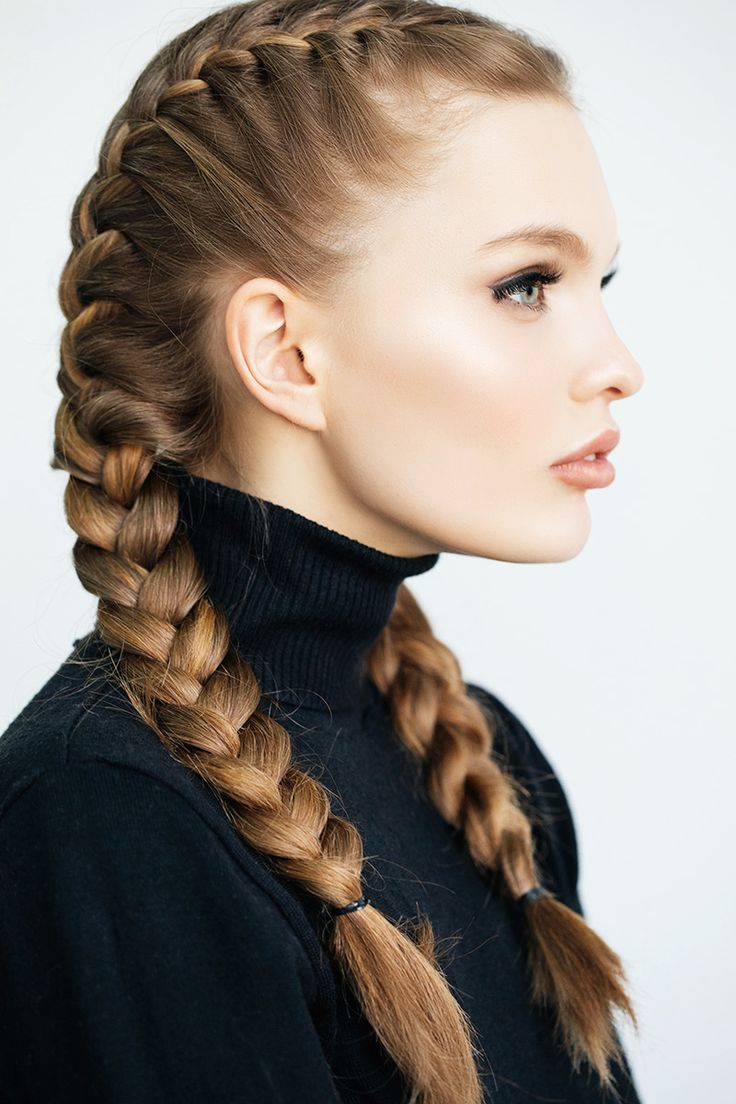 For Textured Beach Waves  When Ites To Braids, The More Plaits, The