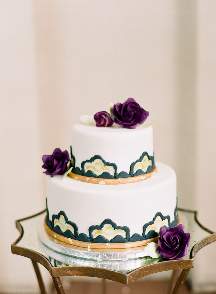 Big City Romance Wedding Cake Inspiration