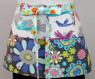 Fun apron featuring Amy Schimler's Fly Away.Sewing, Schimler Fly, Quilt, Etsy, Aprons Features, Vendor Aprons, Fun Aprons, Fly Away, Aprons String
