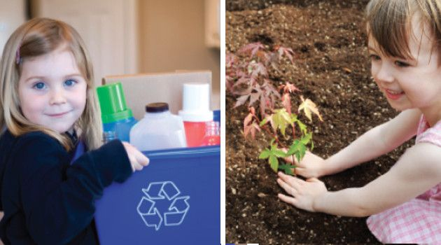 Going Green: 7 Ways to Encourage Healthy, Environmentally-Friendly Habits In Children