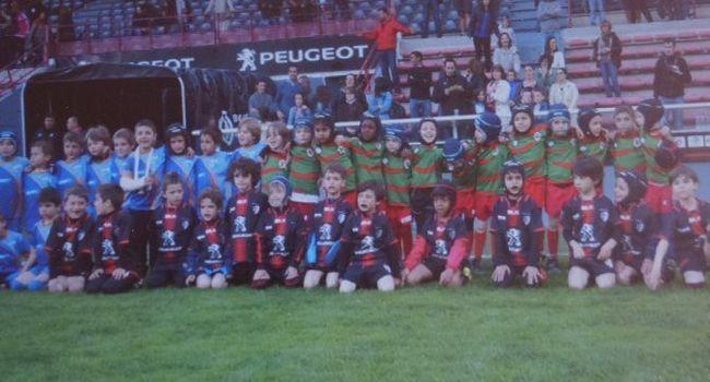 Les équipes «Pépinières» au Stade Ernest Wallon./Photo DDM