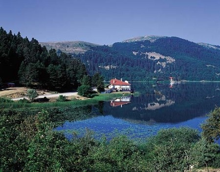 Abant Lake in Bolu, Turkey