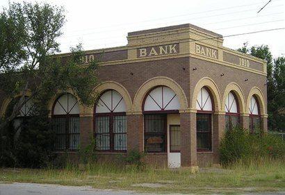 Riviera Texas 1910 bank building