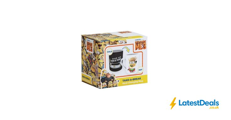 Minion Heat Revealing Mug Free C&C, £3.99 at Argos