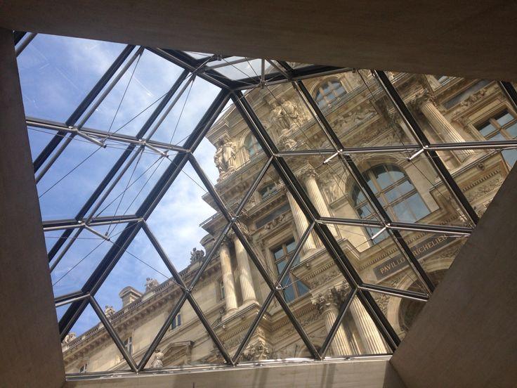 The Louvre, Paris, 2017.