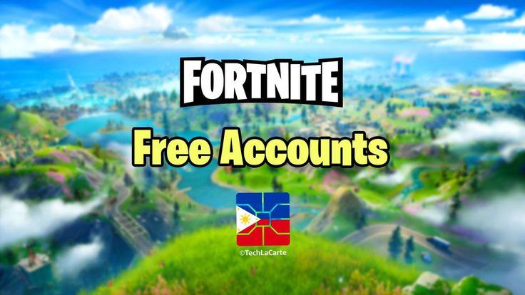 Free Fortnite Accounts with Skins & V-bucks 2020 | Free ...