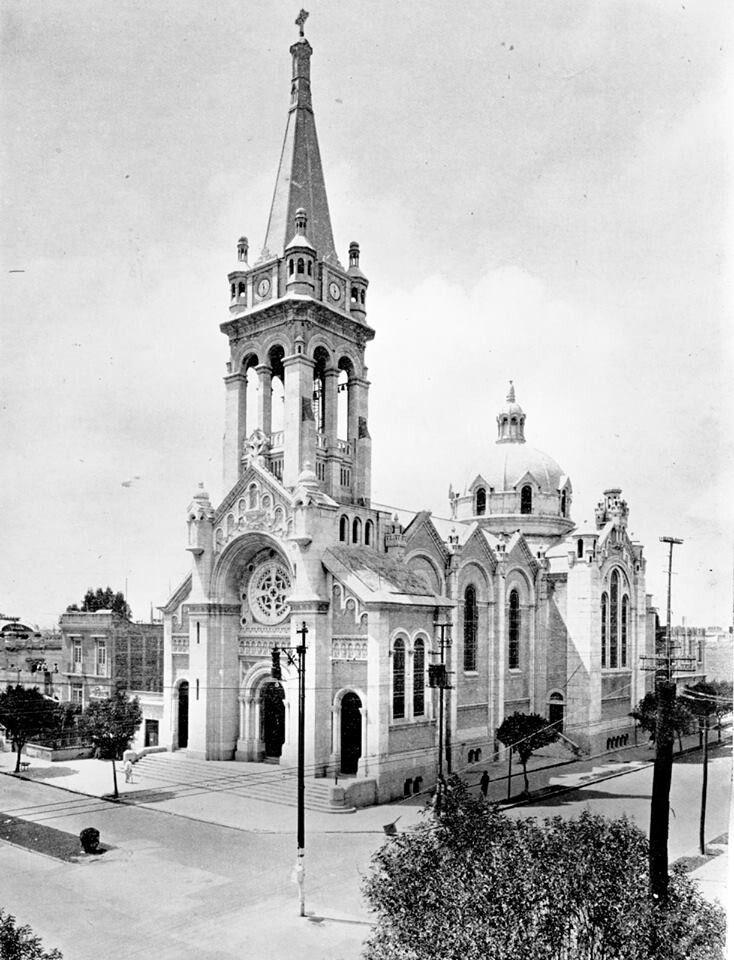 Templo  La Sagrada Familia 1929 DF
