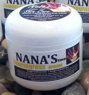 Lemongrass Face & Body Cream... $16.00 each http://www.nanaskincare.com/