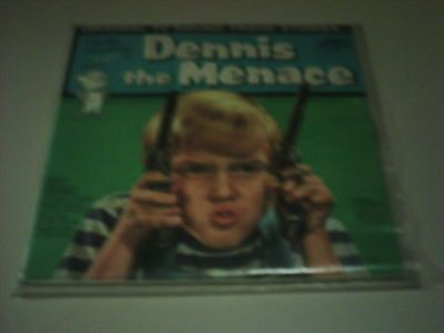 The-Misadventures-of-Dennis-the-Menace-on-a-33-lp