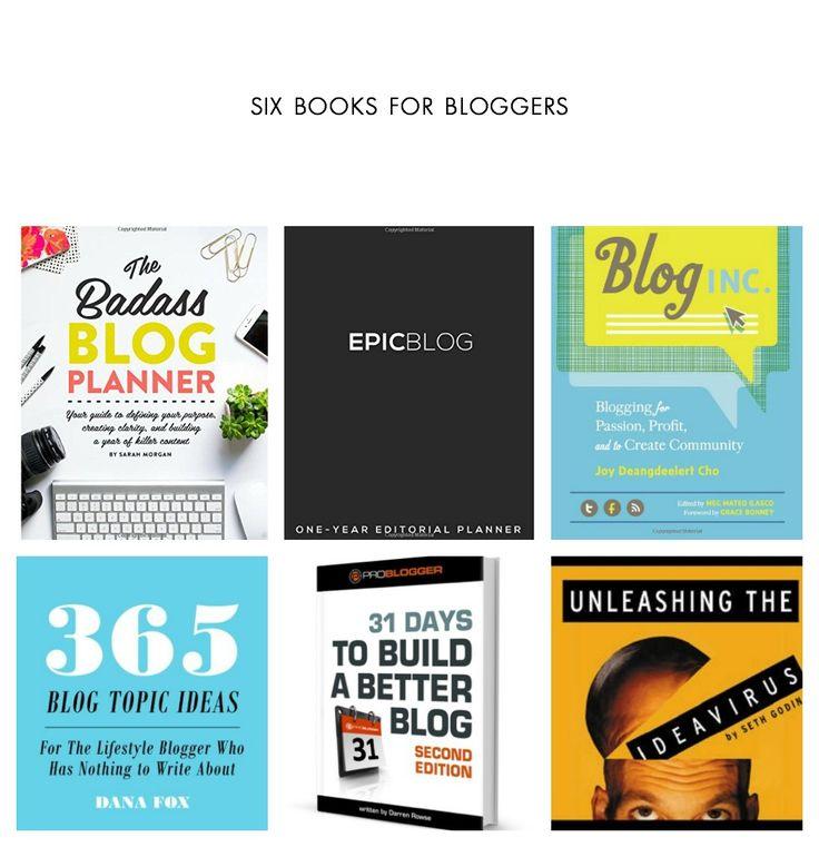Blog Books: 6 books you need to grow your blog