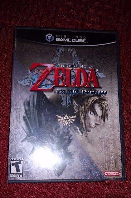 The Legend of Zelda: Twilight Princess, (Nintendo GameCube, 2006) Gamecube #Nintendo