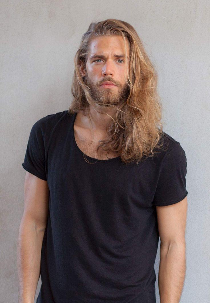 Ben Dahlhaus Long Hair Styles Men Long Hair Beard Hair
