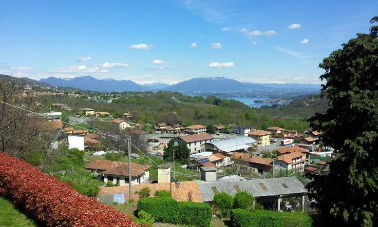 Panorama di #Ghevio (#Meina, #Novara, #Piemonte, #Italy)