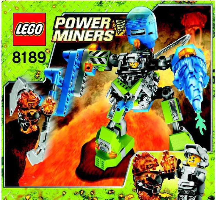 Power Miners - Magma mech [Lego 8189]