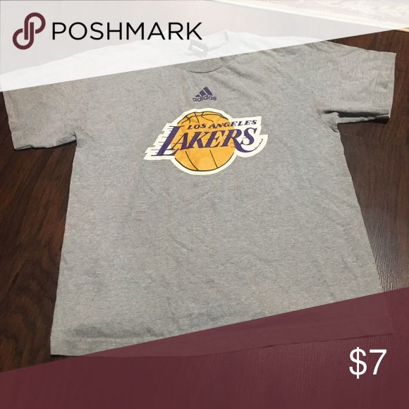 Lakers Tee Kids size large but fits a small. Lakers Shirts & Tops