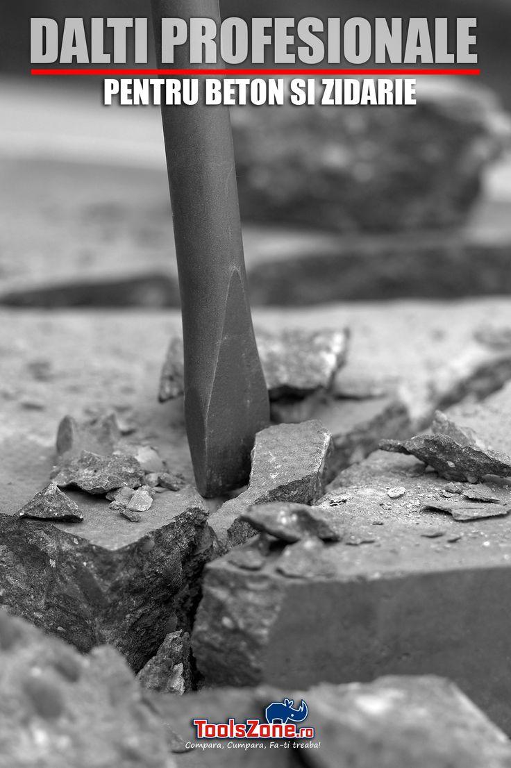 Dalti profesionale IRWIN, DIAGER, KOCH-BOHRER, MAKITA pentru beton si zidarie, prindere SDS-plus si SDS-MAX
