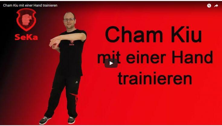 Hier zeige ich die Ausführung der Cham Kiu mit nur einem Arm. Diese Methode birgt vielfältigen Nutzen für den bereits etwas fortgeschrittenen Trainierenden.