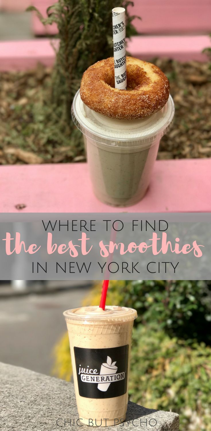 The best smoothies in New York City!