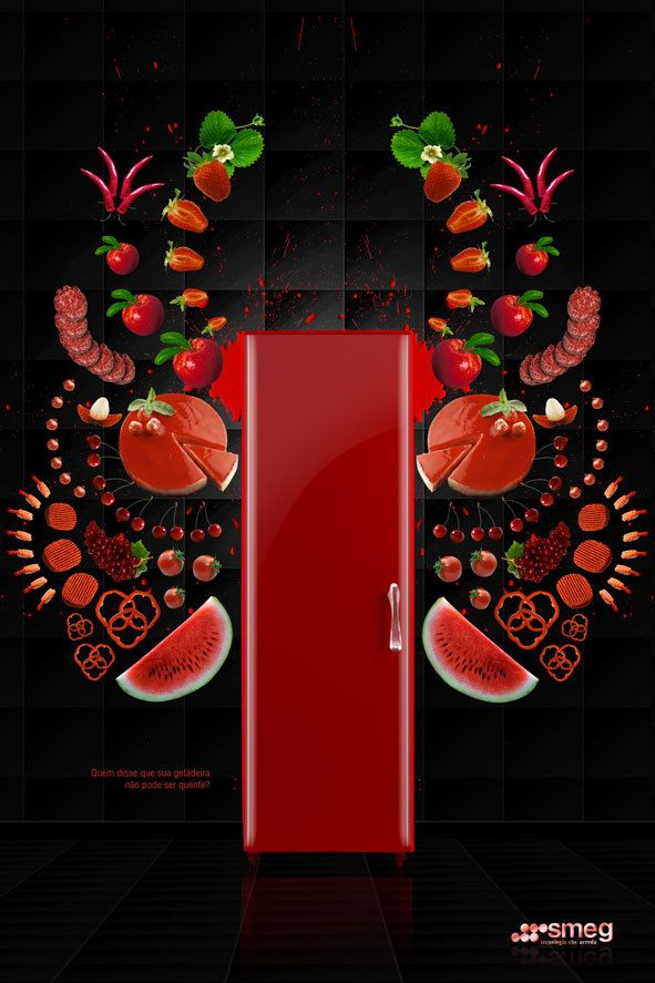 mutfağı renklendiresice 2: Ads Layout, Fridge Smeg, Art Design, Magazines Ads, Colors Smeg, Smeg Ads, Design Strategies, Graphics Ads, Colors Inspiration