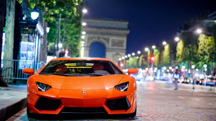 Lamborghini Aventador Night Shot – HD