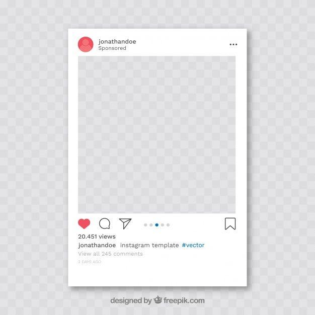 Telechargez Poste Instagram Avec Fond Transparent Gratuitement