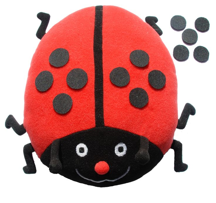 Leer vliegensvlug de telrij tot en met 12 opzeggen met dit vrolijke lieveheersbeestje!