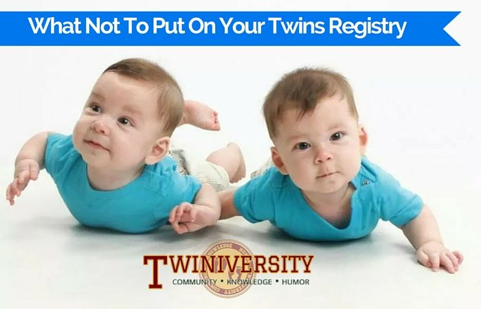 When making your twins registry, you don't need it all! Here are 7 things that you don't need to put on your registry when you're expecting twins or more.