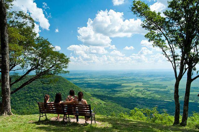Cerro Akatí en el distrito de Melgarejo del departamento de Guairá, Paraguay Carajo! :D