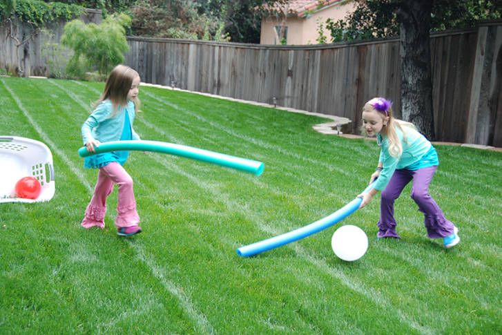 Turn your backyard into your very own Inside Out game.