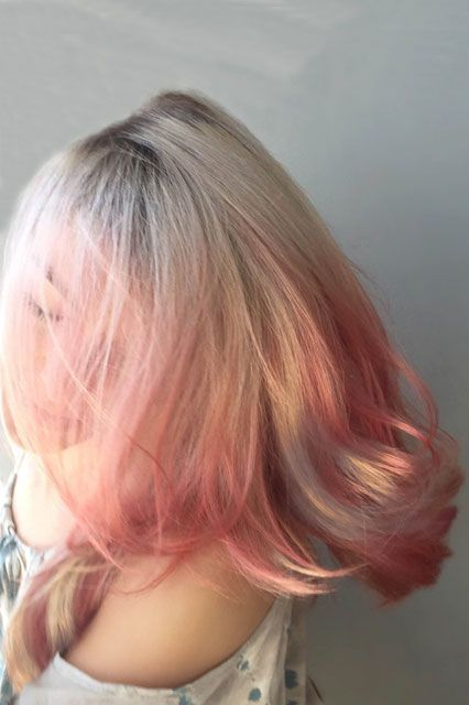 """These Hair-Color Trends Are Going To Be Huge #refinery29  http://www.refinery29.com/hair-coloring-techniques-terminology#slide-8  ShimmeringBored with your usual balayage? Colorist Chad Kenyon has the solution for you: color-shimmering. Kenyon says the technique evolved from working with clients who came in for bright-blonde highlights and color, but who also wanted something fun and customized.""""I color hair with the mindset of a..."""