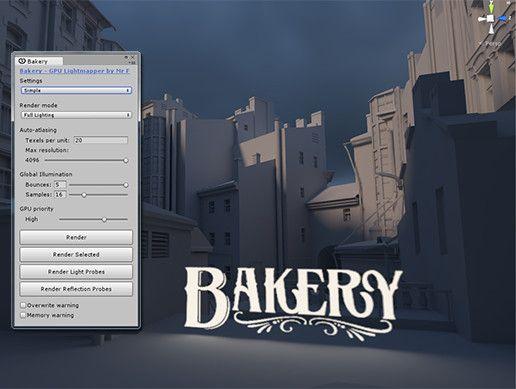 Bakery - GPU Lightmapper Unity Asset Store Unreal Engine