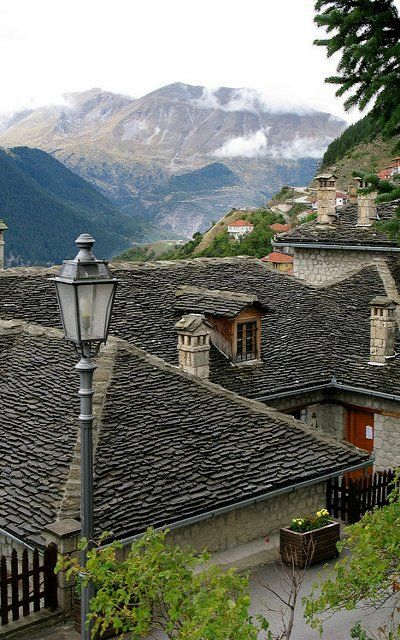 metsovo, epirus, greece
