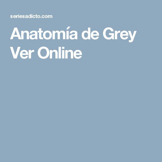Anatomía de Grey Ver Online