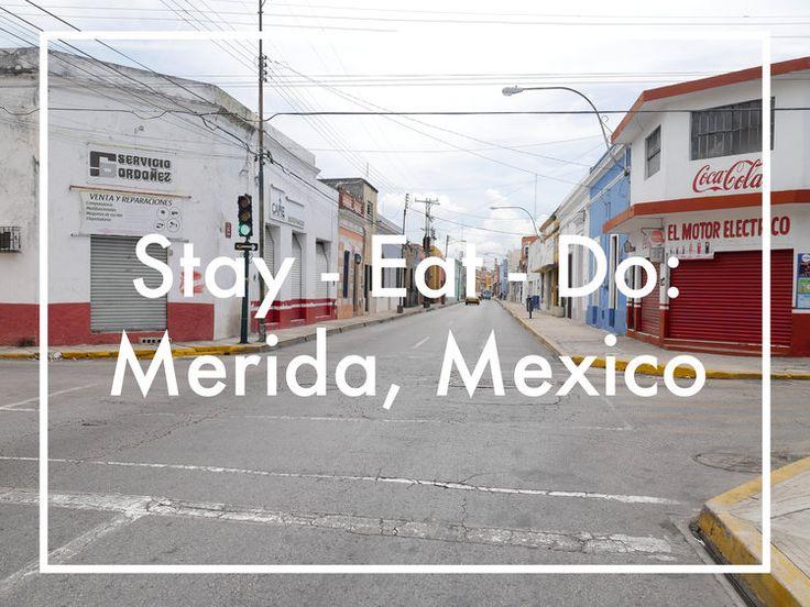 Merida, Mexico — Emily Isa Baker