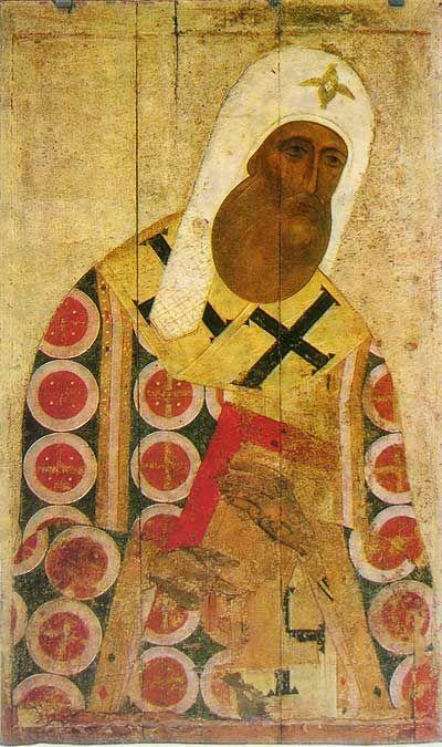 Митрополит Петр. 1 пол 15в.|| наиболее явственно отразились московские влияния