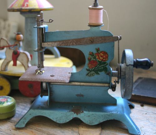 I'd just love to have this in my sewing room on display. So pretty