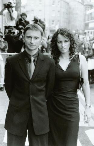Robert Carlyle & Wife