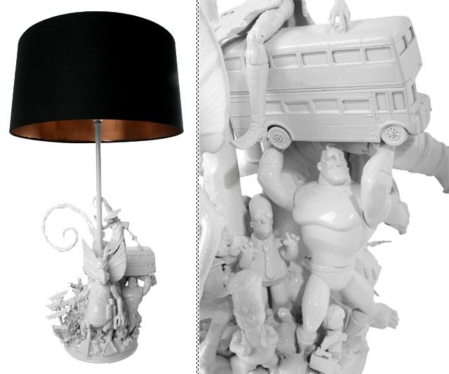 Action Figure Lamps | DudeIWantThat.com