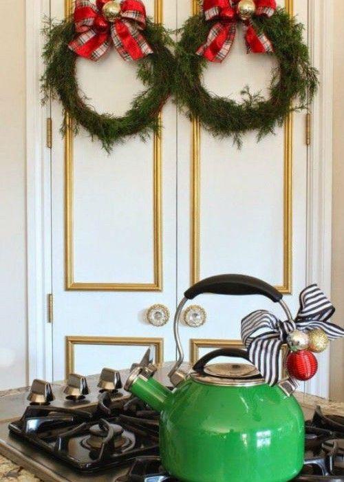ιδέες για μια Χριστουγεννιάτικη διακόσμηση στην Κουζίνα