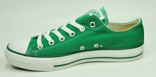 Converse Shoes All Star Women's Low Chuck Taylors Fashion Tennis Green